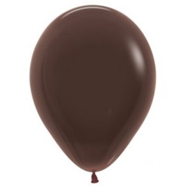 12cm Fashion Chocolate Latex Balloons
