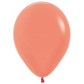 12cm Neon Orange Latex Balloons