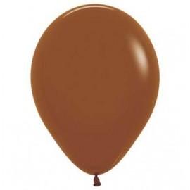 12cm Fashion Caramel Mocha Brown Latex Balloons