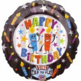 70cm Sing-A-Tune Birthday Candles