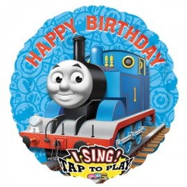 70cm Sing-A-Tune Birthday Thomas