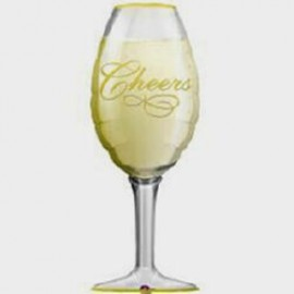 Shape Champagne Glass Cheers