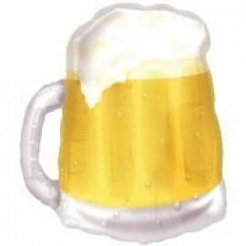 Shape Beer Mug Transparent See-Thru