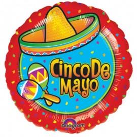 45cm Fiesta Cinco De Mayo