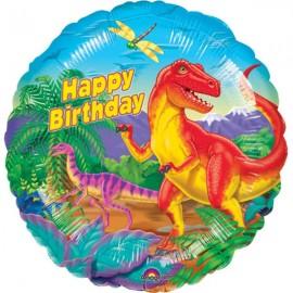 45cm Dinosaur Party Happy Birthday