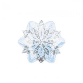 45cm Shape White Christmas Snowflake Prismatic