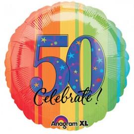45cm 50 Birthday Celebrate
