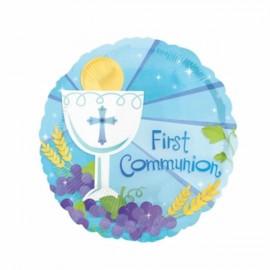 45cm First Communion Blue