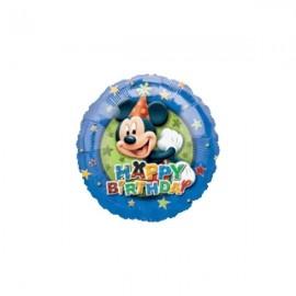 45cm Mickey Mouse Happy Birthday Stars