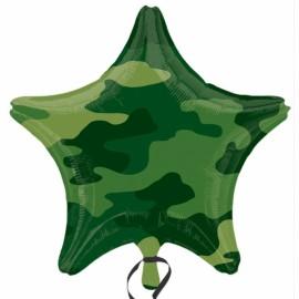45cm Camouflage Star