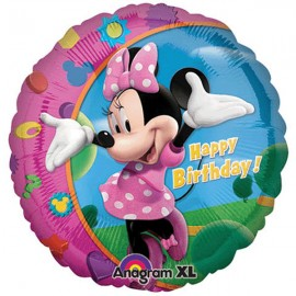 45cm Minnie Mouse Happy Birthday