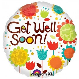 45cm Get Well Soon! Cheery Flowers