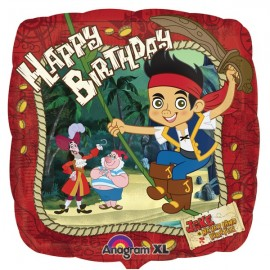 45cm Jake & the Neverlands Pirates, Happy Birthday