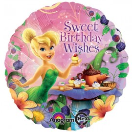 45cm Tinker Bell Sweet Birthday Wishes