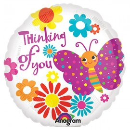 45cm Thinking Of You Cute Butterfly