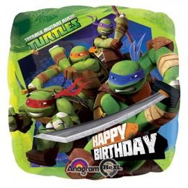 45cm Teenage Mutant Ninja Turtles Happy Birthday