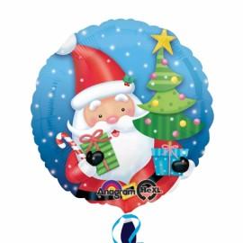 45cm Santa with Tree