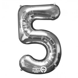 Shape Number Five Silver, Helium Saver