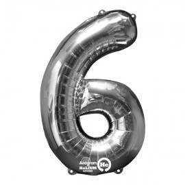 Shape Number Six Silver, Helium Saver