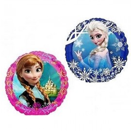 22cm Disney Frozen (Inflated) (2 sided design Elsa and Anna)