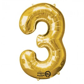 Shape Number Three Gold, Helium Saver