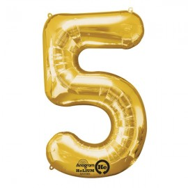 Shape Number Five Gold, Helium Saver