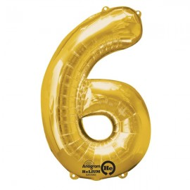 Shape Number Six Gold, Helium Saver
