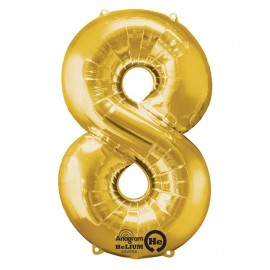Shape Number Eight Gold, Helium Saver