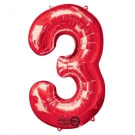 Shape Number Three Red, Helium Saver