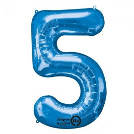 Shape Number Five Blue, Helium Saver