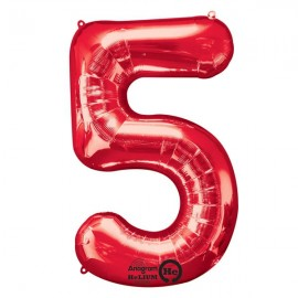 Shape Number Five Red, Helium Saver