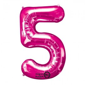 Shape Number Five Pink, Helium Saver