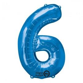 Shape Number Six Blue, Helium Saver