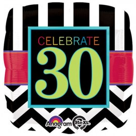 45cm Birthday Celebrate 30