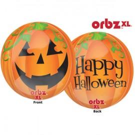 Shape Orbz Pumpkin Happy Halloween 38cm x 40cm