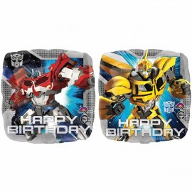 45cm Transformers Happy Birthday Animated