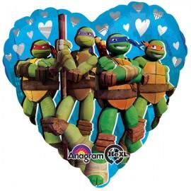 45cm Teenage Mutant Ninja Turtles Heart