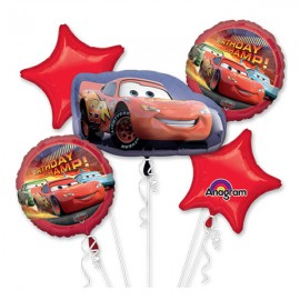 Disney Cars Bouquet 1 x Shape & 4 x 45cm