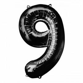 Shape Number Nine Black Helium Saver