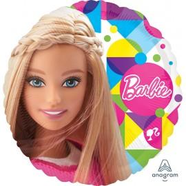 45cm Barbie Sparkle Foil Balloon