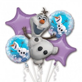 Olaf Bouquet 1 x Super Shape & 4 x 45cm