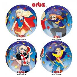 Shape Orbz Super Hero Girls See Thru Clear