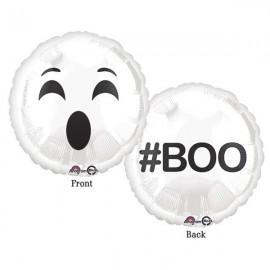 45cm Emoji Face Ghost # BOO