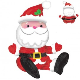 Shape Sitting Santa - Great for a Gift or Table Decoration