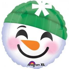 45cm Emoji Face Snowman
