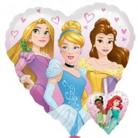 45cm Princess Dream Big Heart 2 Sided Design