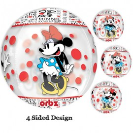 Shape Orbz Minnie Mouse 4 Sided Design 38cm x 40cm