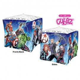 Shape Cubez Avengers 2 Sided Design 38cm x 38cm