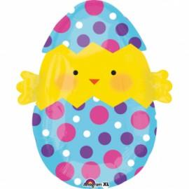 Junior Shape Chick & Eggs 43cm x 50cm