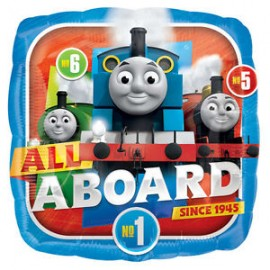 22cm Thomas The Tank & Friends (Flat) All Aboard